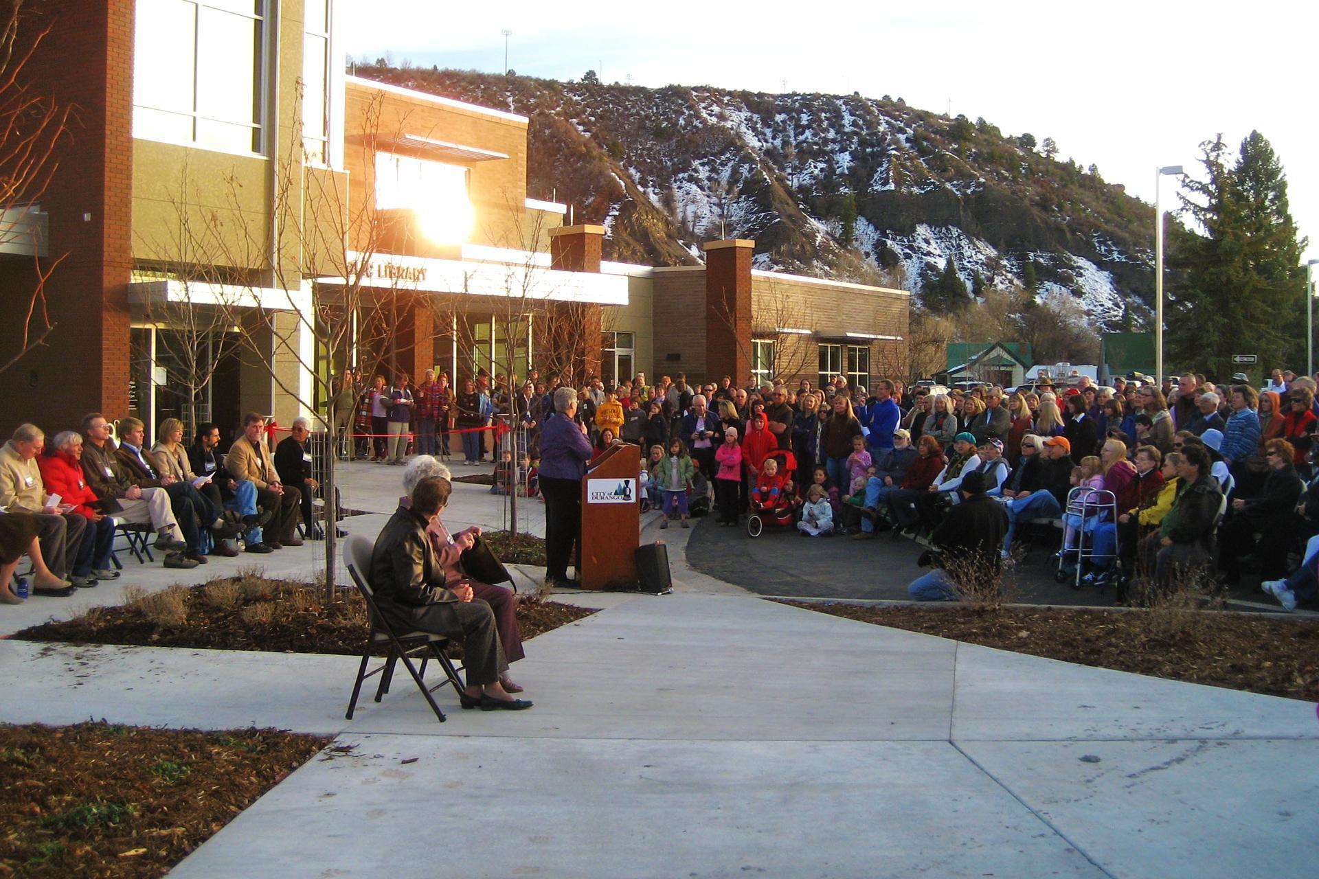 Durango Library Landscape Architecture