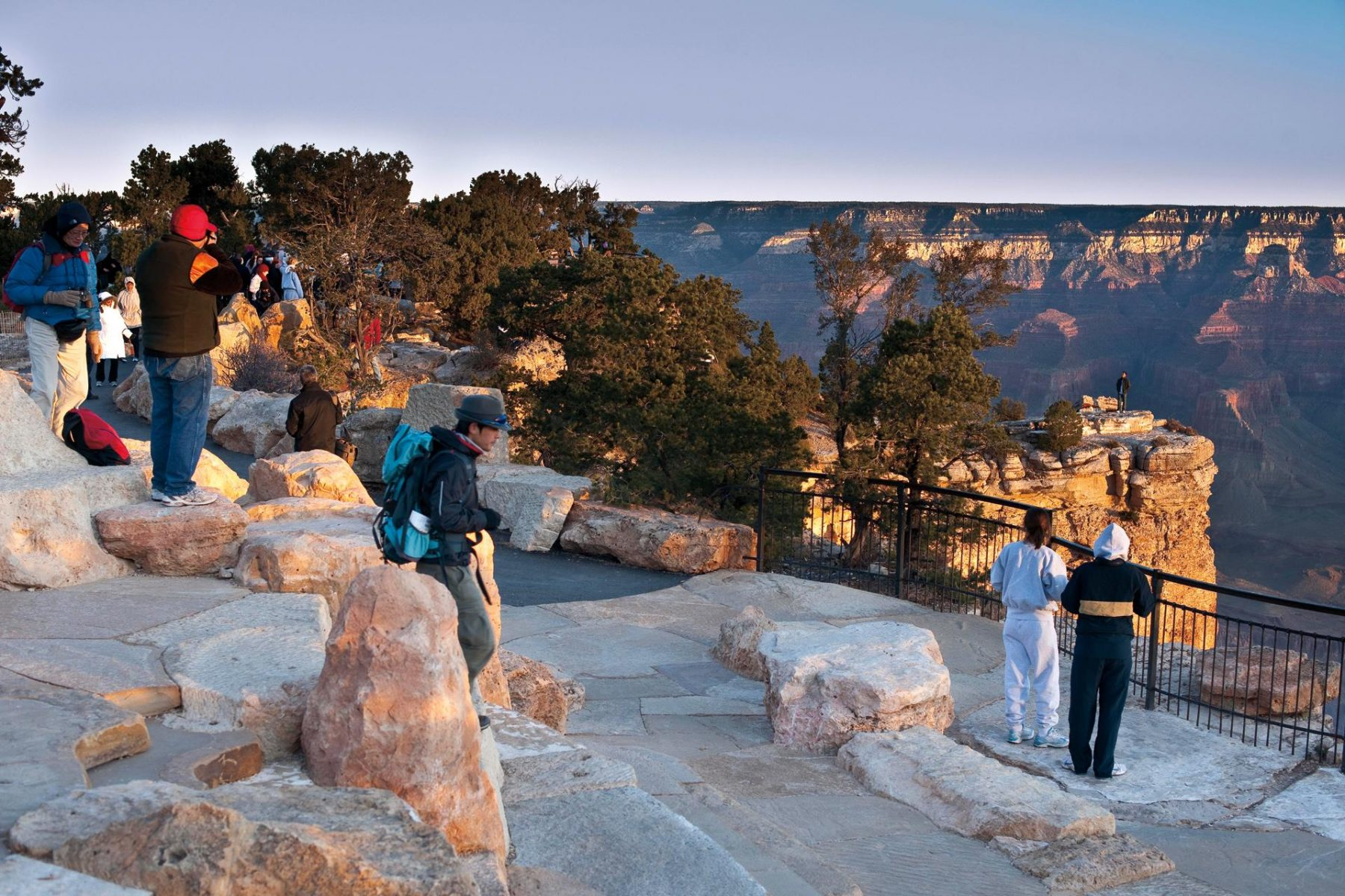 Mather Point Visitor Center Landscape Architecture Site Design