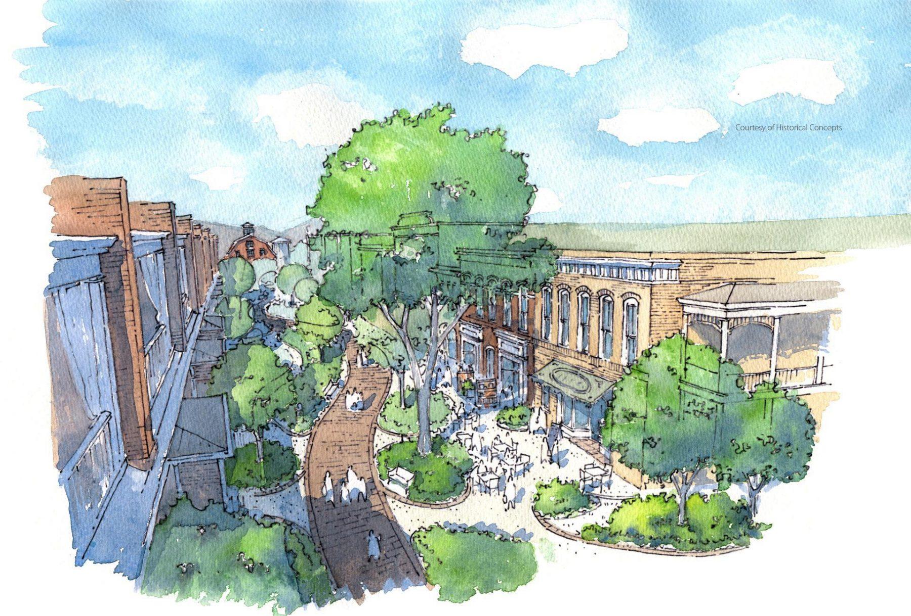 Wolcott Planned Community Landscape Architecture