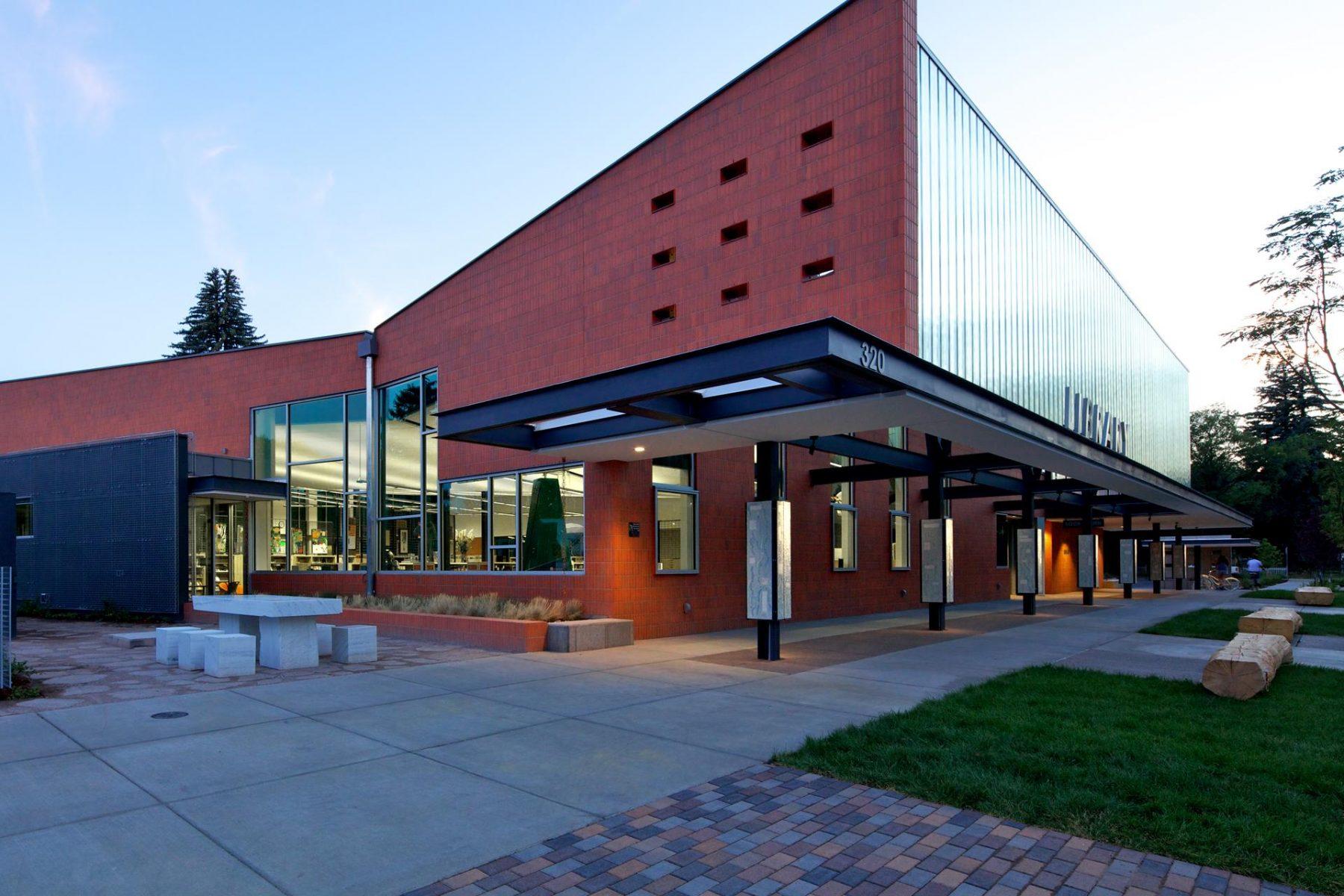Carbondale Library Landscape Architecture