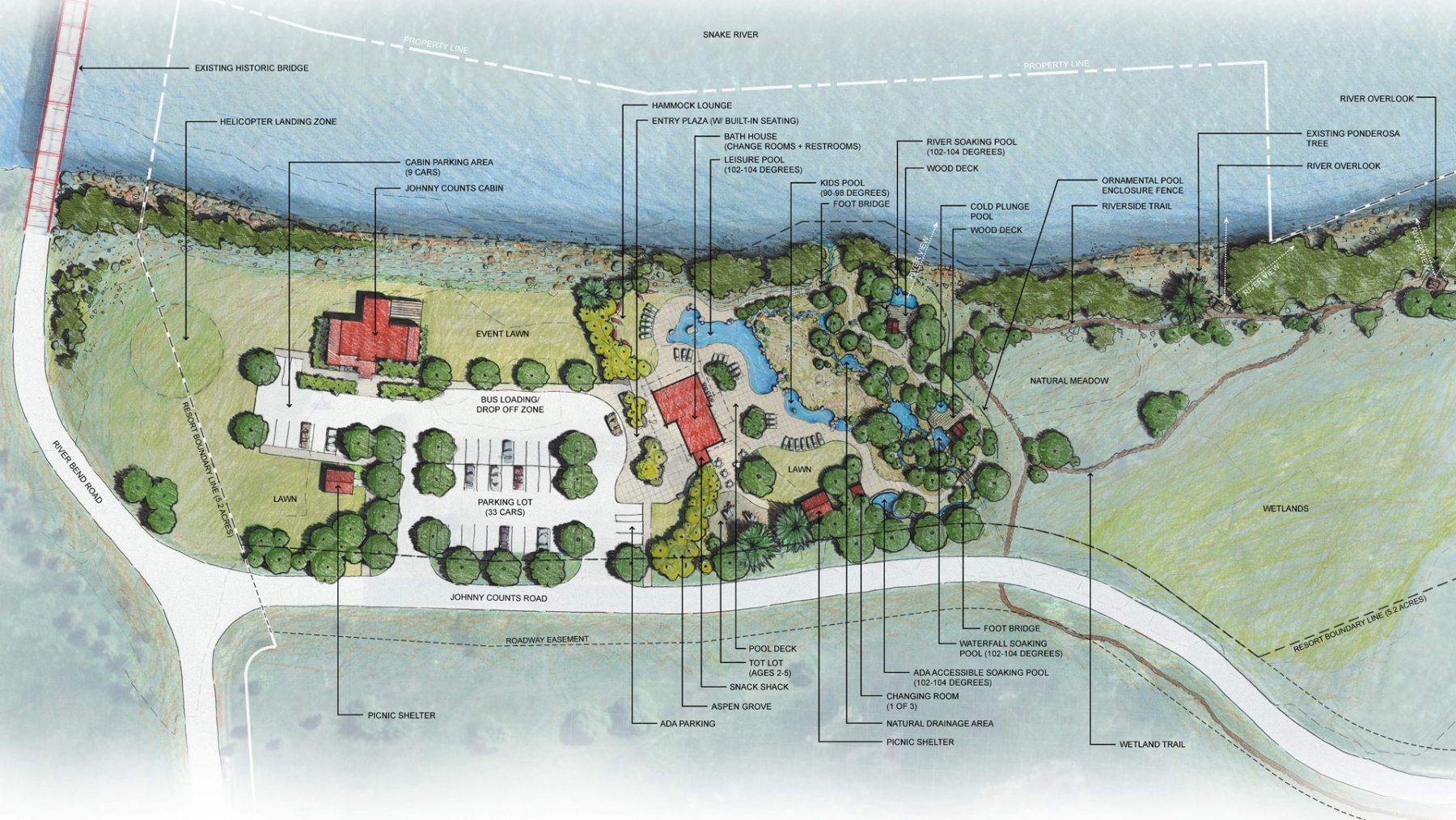 Yellowstone National Park Rv Parks >> Astoria Hot Springs Park – DHM Design