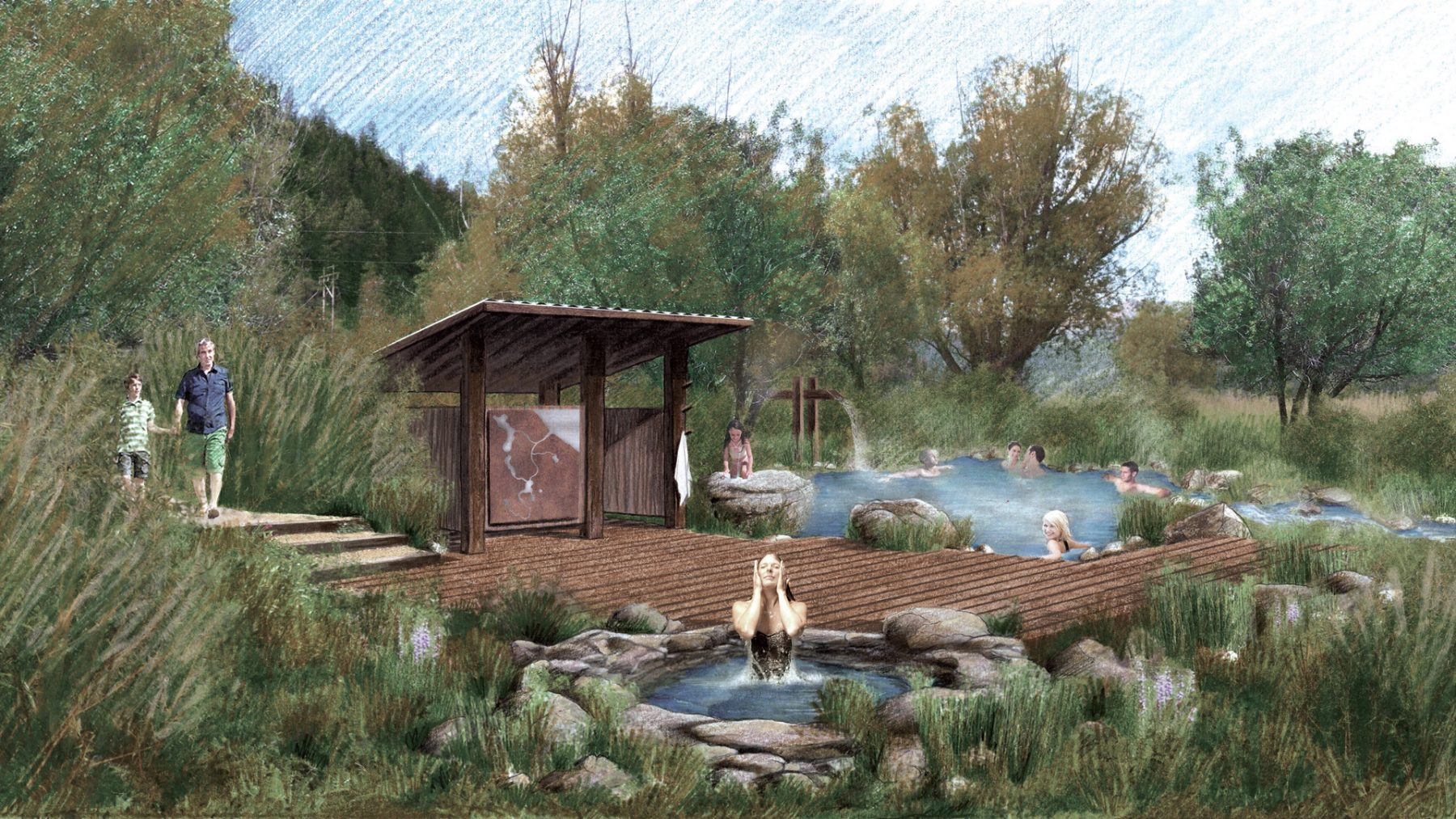 Astoria Hot Springs Park Dhm Design